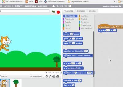 Taller Xnergic: Programació de jocs amb Scratch